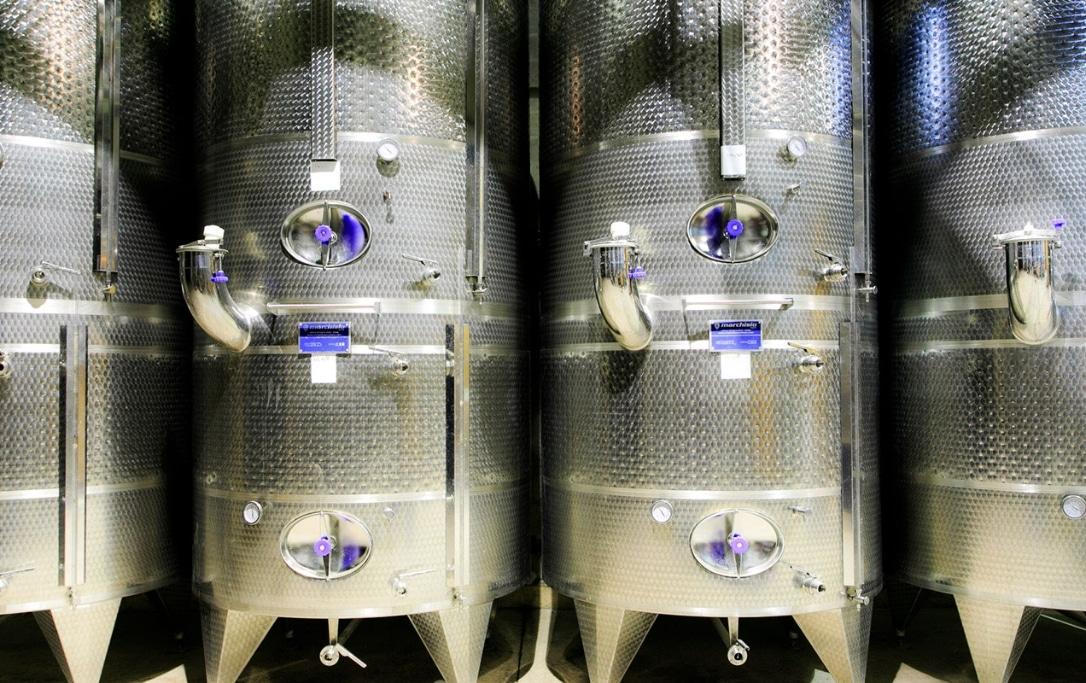 Cuve de vin de Provence