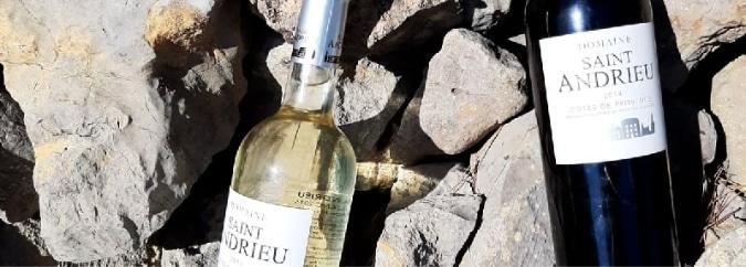 Vins Domaine Saint Andrieu